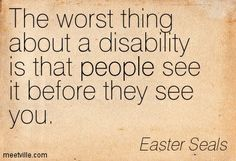 Disability Quotes Stunning Quotes And A Story  Community Employment
