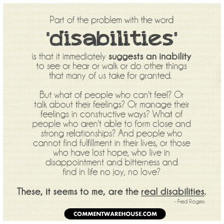 Disability Quotes Stunning Quotes And A Story