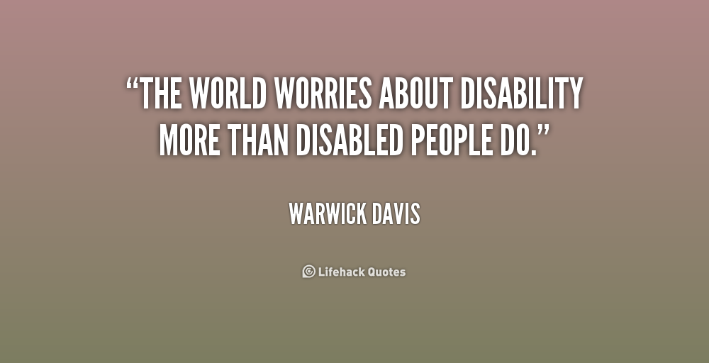 Quotes About Disabilities Alluring Quotes And A Story  Community Employment