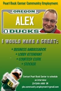 Alex's Poster