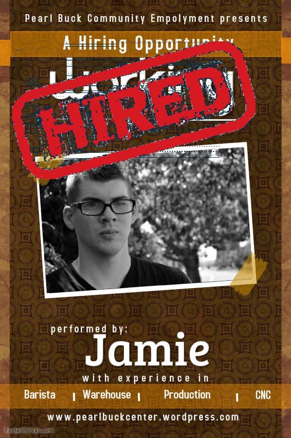 Jamie Hired