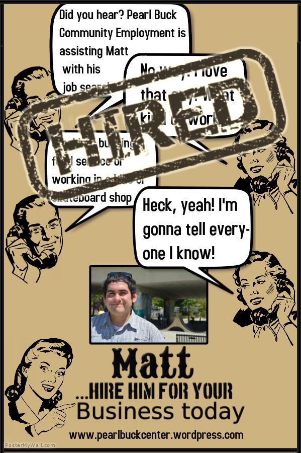 Matt Hired