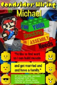 Michael's Poster