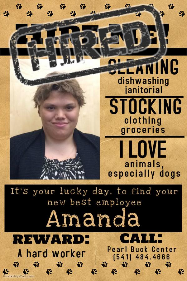 Amanda Hired