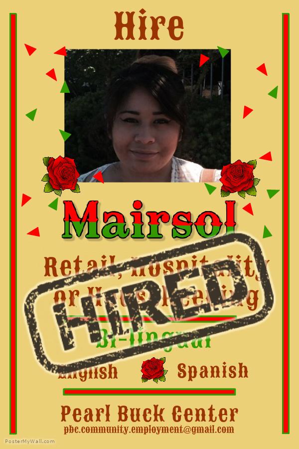 Marisol Hired