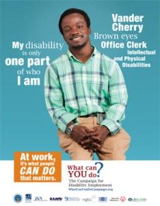 Who I Am Poster; Vander Cherry